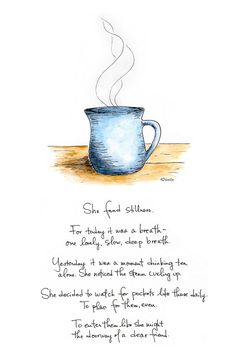 Yes, this. 8x10 She Found Stillness print by TrustTending on Etsy