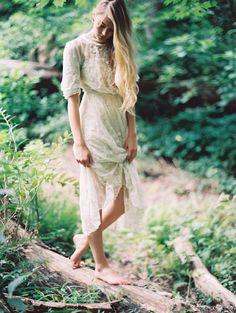 Woodland bride by Laura Gordon