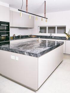 Windsor Pantry Kitchen - St James Interiors - Bone colour matt lacquered  doors 062e5d00dcd