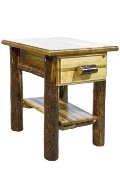 Montana Woodworks Glacier Country Collection Nightstand/End Table with Drawer and Shelf Montana Woodworks http://www.amazon.com/dp/B0032ZZQOA/ref=cm_sw_r_pi_dp_GHibub035BWNF