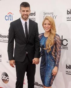 Most Stylish Celebrity Couples - Shakira and Gerard Pique - from InStyle.com