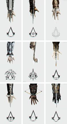 Assassins creed Hidden Blades  Any of the hidden blade replicas - I have the Syndicate one already but would like some other ones  Can find them on Amazon.com