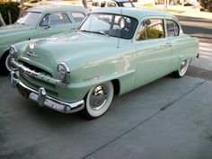 1953 Plymouth Cranbrook 2-Door Sedan
