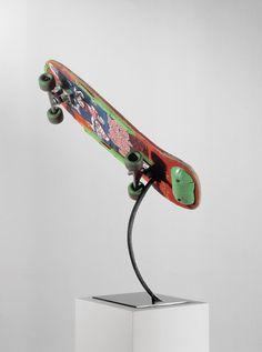 Skateboard trophy