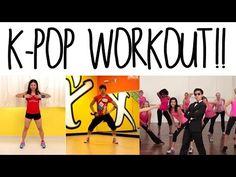 Fun Kpop Workout Routine!! 2.0 - YouTube