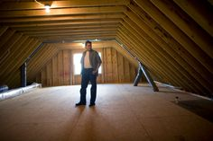 Turning an attic into a room can add value to your home and additional living space for your family. Many older homes were built with steep pitched roofs and plenty of available height that makes attic conversion easy and inexpensive. There are many things to consider before undertaking the work....
