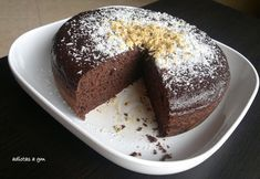 Bizcocho chocolatissimo en Olla GM Gm Olla, Pudding, Cake, Desserts, Food, Gym, Crock Pot Recipes, Crockpot, Casserole Recipes