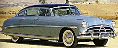 1952 Hudson Hornet Four Door Sedan - I know someone who owns an old Hudson and it's so incredible riding around in it