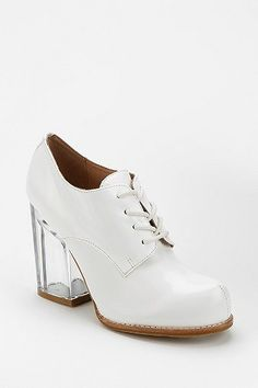ef3f1d013a4 Jeffrey Campbell Bravery Clear Heeled Oxford