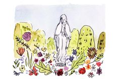 Mary Garden by Chau Nguyen