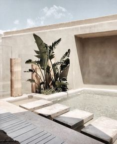 A Mediterranean Inspired Design Have you ever really thought about how many people see the outside of your home? Only a small fraction of these people will actually end up setting foot into it. Design Patio, Exterior Design, Interior And Exterior, House Design, Architecture Design, Mediterranean Garden Design, Desert Homes, Pool Designs, Future House