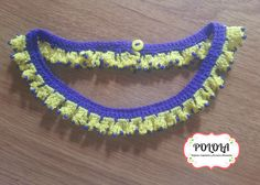 MODELO ALALA Ref: acua01 Accesorio artesanal hecho a mano en la tecnica de crochet. Tenerife, Islas Canarias Tenerife, Crochet Earrings, Bracelets, Jewelry, Fashion, Role Models, Canary Islands, Handmade, Accessories