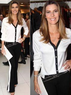 Moda Estilosa!: Especial Fabiana Scaranzi!
