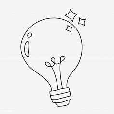 doodle bulb rawpixel creative drawing drawings easy crafts 7tem3 icu graphic marinemynt