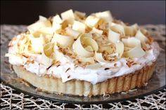 coconut cream pie...we don't need no stinkin' forks...I wanna pick this up and eat like a piece of fried chicken.
