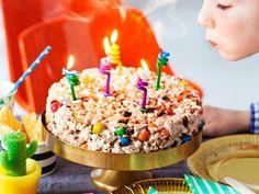 Popcorn-kakku syntyy ilman uunia