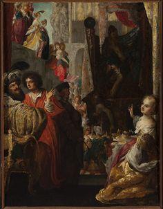 Bartłomiej Strobel, Daniel i król Cyrus przed Baalem, 1637.