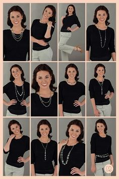 12+ Multiple Looks with only 2 Pieces of Mialisia Jewelry! http://cshipley.mialisia.com