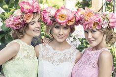 Brautjungfernkleider+von+Kelsey+Rose:+Pretty+in+Pastell