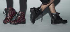 Amphibians and rain boots