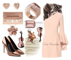 """""""Throwing Copper"""" by sharee64 ❤ liked on Polyvore featuring Exclusive for Intermix, Alexander Wang, Kattri, Michael Kors, Essie, Allurez and Coast"""