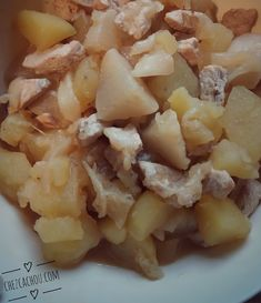 Poulet aux pommes de terre et navets, sauce moutarde au Cookeo, Companion ou sans robots