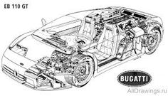Картинки по запросу чертеж авто