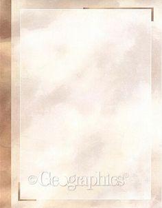 "Geographics Copper Printable Business Letterhead, 8.5"" x 11"" 25/pk"