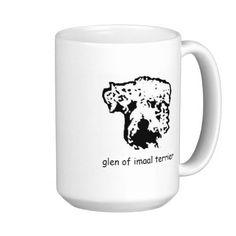 coffee mug glen of imaal terrier