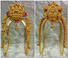 Simple Lakshmi Aravankis - Latest Jewellery Designs
