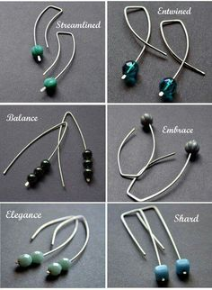 Great choice of earring wires to make :)