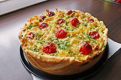 Schnelle Makkaroni-Quiche, ein leckeres Rezept aus der Kategorie Pasta. Bewertungen: 72. Durchschnitt: Ø 4,2.