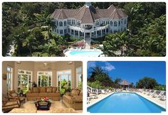 Summer doesn't have to end when the cold weather blows into town.  This is Endless Summer, a six-bedroom villa in Mo Bay. #Jamaica