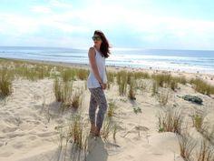 Look dans les dunes de la plage de Moliets dans les Landes à l'occasion d'un week-end en familles !