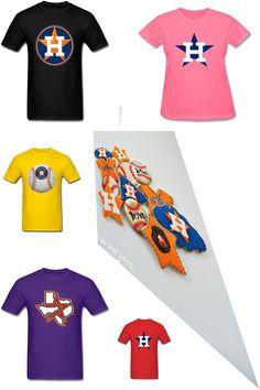7fea122d Houston Astros shirt designs · #HoustonAstrosLogo #TShirt #AllStarGame #Tees  #MLB #FashionableTShirts The Houston Astros baseball