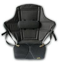 Skwoosh - High Back Fluidized Gel Kayak Seat w/ Lumbar   HBL1204