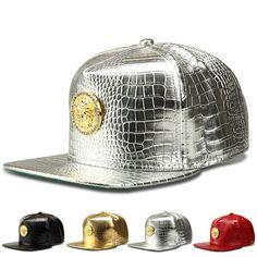 $9.97 (Buy here: https://alitems.com/g/1e8d114494ebda23ff8b16525dc3e8/?i=5&ulp=https%3A%2F%2Fwww.aliexpress.com%2Fitem%2FFashion-Crocodile-Grain-baseball-cap-Diamond-Medusa-Tide-brand-flat-brimmed-hat-influx-of-people-men%2F32732972442.html ) Fashion Crocodile Grain baseball cap Diamond Medusa Tide brand flat -brimmed hat influx of people men and women hip-hop hat for just $9.97