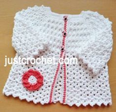 Free baby crochet pattern cotton summer cardigan usa