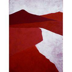 Art Excuse 'Dunes' by Regine La Fata Original Painting on Wrapped Canvas