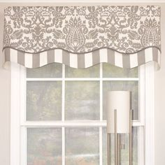 New bedroom window valance ideas wall colors ideas Valences For Windows, Bedroom Windows, Valance Window Treatments, Window Coverings, Types Of Curtains, Drapes Curtains, Hanging Drapes, Drapery Panels, Curtain Inspiration