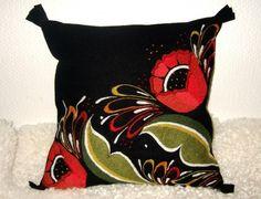 Pillow from Mora Hemslöjd store, the Dalecarlia province, Sweden