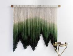 Macrame Wall Hanging Diy, Hanging Fabric, Macrame Art, Macrame Design, Fabric Art, Crochet Wall Art, Yarn Wall Art, Diy Wall Art, Tapestry Nature