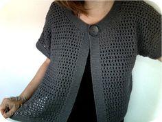 crochet - easy cardi      ♪ ♪ ... #inspiration_crochet #diy GB