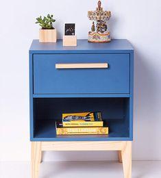 CriadoMudo Pine Azul Petróleo is part of Painted furniture DIY Rustic - Painted furniture DIY Rustic Furniture Logo, Small Furniture, Recycled Furniture, Plywood Furniture, Accent Furniture, Furniture Making, Furniture Design, Cheap Furniture, Discount Furniture