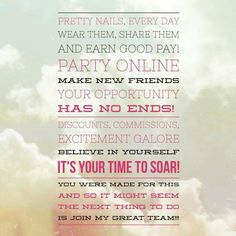 I would love to share the Jamberry opportunity with you! https://SharasNailShop.jamberry.com