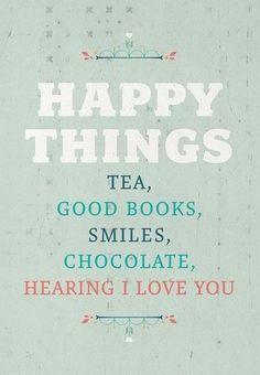 Happy Things                           HAPPY-HAPPY-HAPPY