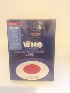 NIP The Who Tommy And The Quadrophenia Live With Friends 3 Disc DVD Set