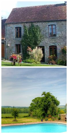 Spend your Summer in a 300 year old Cottage in #Normandy #France with Pool FREE via housesitting - see details by clicking on the above Pin of the house & pool you could be staying in free soon!