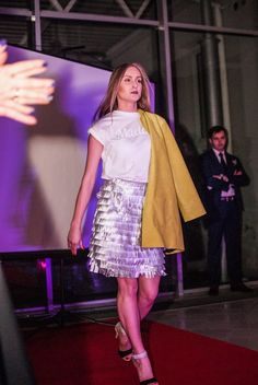 #fashion #show #silver #leather #jacket #lemon #elegant #luxury #shop