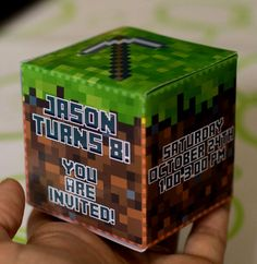 Minecraft Birthday Party Ideas Diy